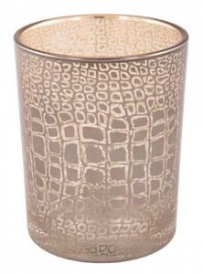 Bilde av Lysglass med slangemønster H